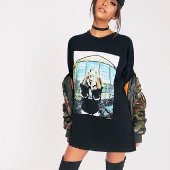 50c652a9d71 2Pac Portrait Black T-Shirt Dress
